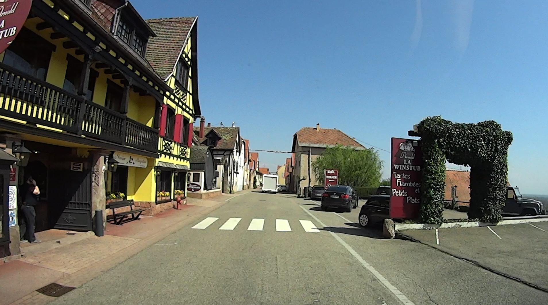 Elsässer Weinstrasse Molsheim-Nothalten
